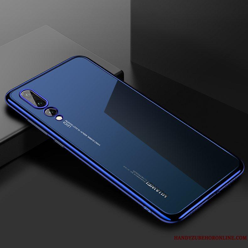 Etui Huawei P20 Pro Tasker Gennemsigtig Glas, Cover Huawei P20 Pro Kreativ Trendy High End