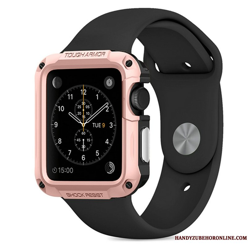 Etui Apple Watch Series 3 Beskyttelse Rosa Guld Udendørs, Cover Apple Watch Series 3 Sport