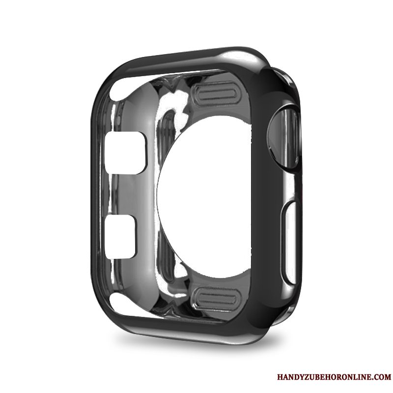 Etui Apple Watch Series 3 Blød Sort, Cover Apple Watch Series 3 Beskyttelse