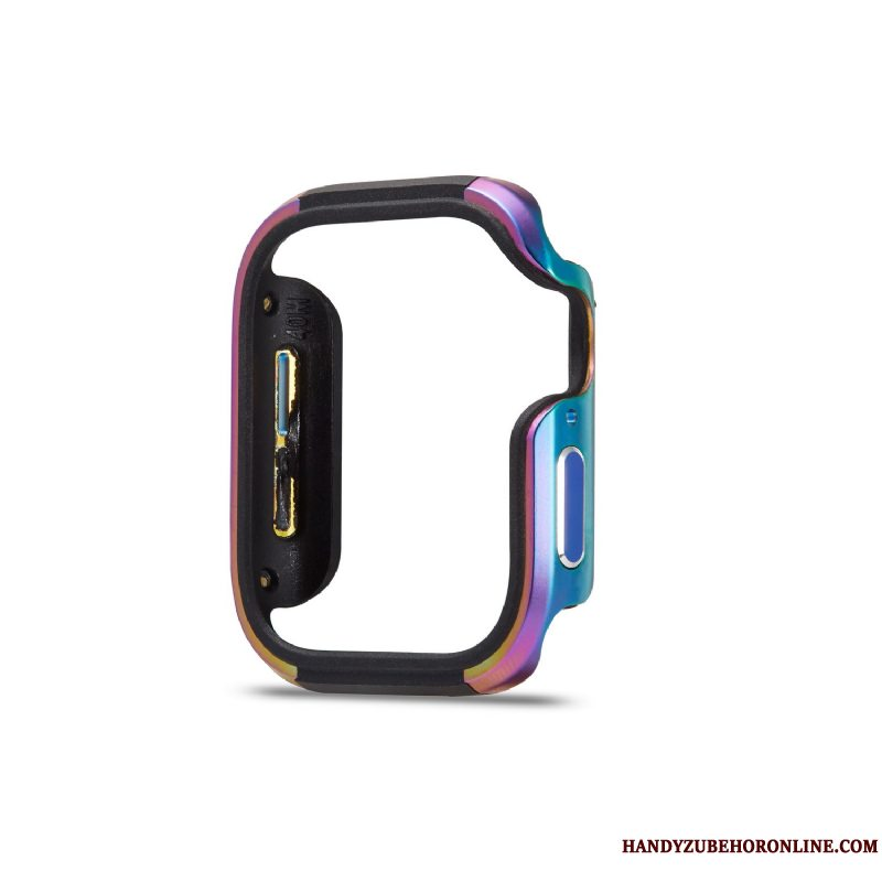 Etui Apple Watch Series 3 Silikone Legering Trend, Cover Apple Watch Series 3 Beskyttelse Anti-fald Farverige