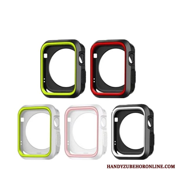 Etui Apple Watch Series 5 Blød Sort, Cover Apple Watch Series 5