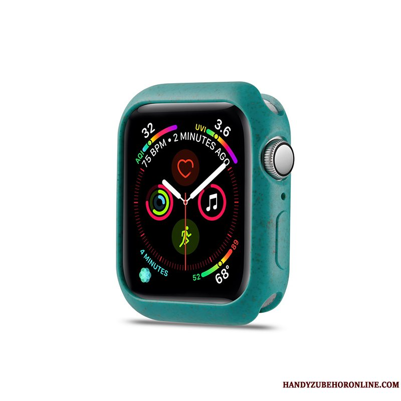 Etui Apple Watch Series 5 Tasker Grøn, Cover Apple Watch Series 5 Beskyttelse