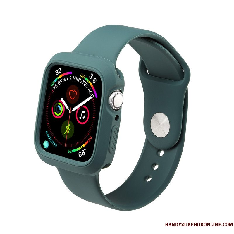 Etui Apple Watch Series 5 Tasker Vandtætte Sport, Cover Apple Watch Series 5 Beskyttelse Grøn Trend