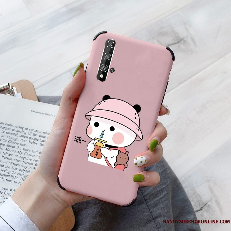 Etui Honor 20 Beskyttelse Af Personlighed Net Red, Cover Honor 20 Cartoon Anti-fald Simple