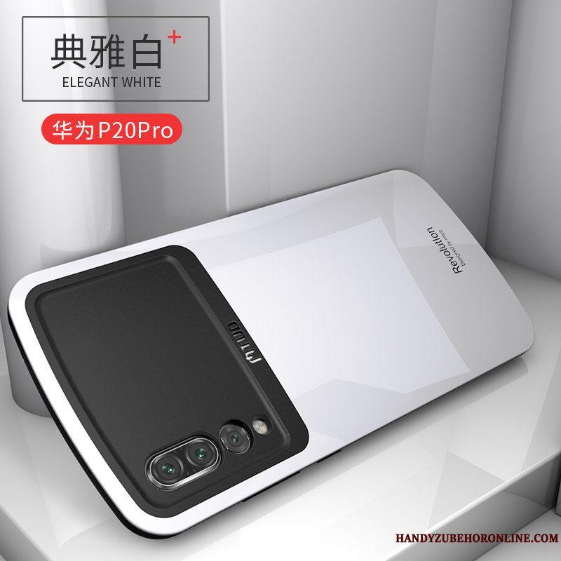 Etui Huawei P20 Pro Tasker Gennemsigtig Glas, Cover Huawei