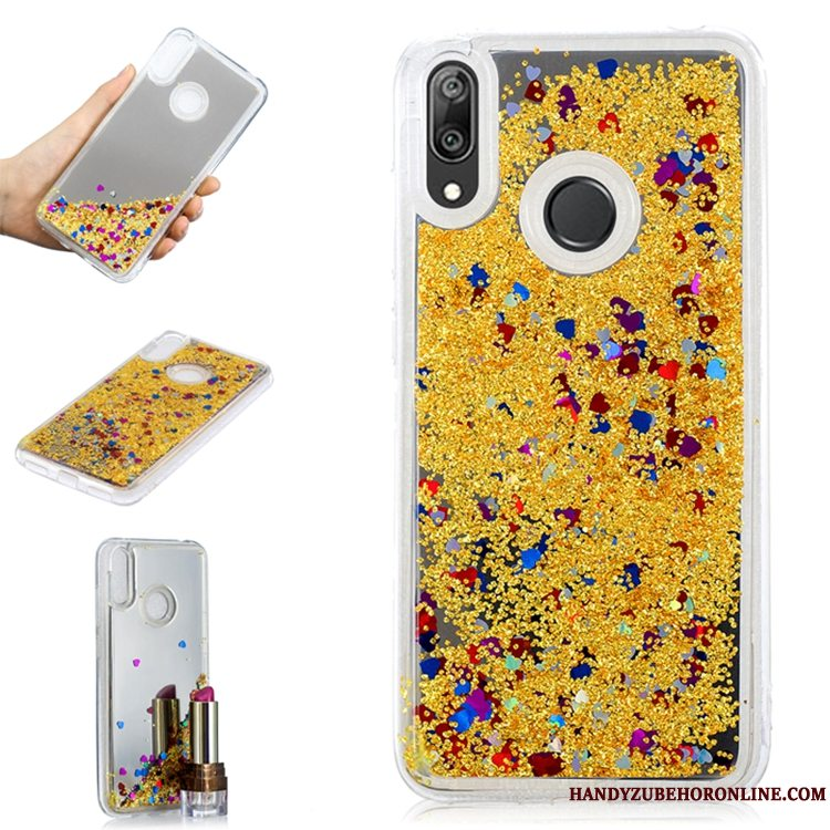 Etui Huawei Y7 2019 Telefonguld, Cover Huawei Y7 2019 Quicksand Trend
