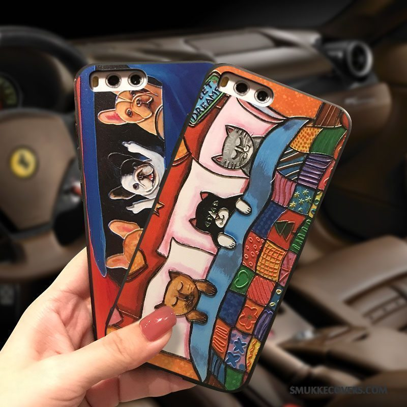 Etui Mi Note 3 Cartoon Lille Sektion Anti-fald, Cover Mi Note 3 Tasker Trendy Smuk
