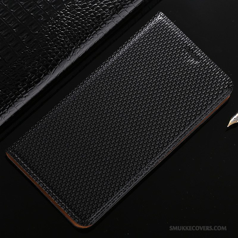 Etui Mi Note 3 Folio Sort Lille Sektion, Cover Mi Note 3 Læder Telefon