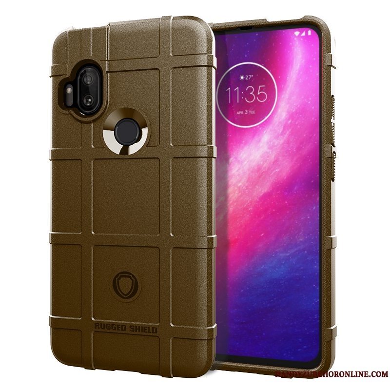 Etui Motorola One Hyper Tasker Simple Anti-fald, Cover Motorola One Hyper Beskyttelse Telefon