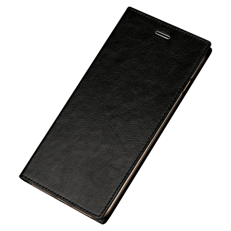 Etui Redmi Note 5a Folio Telefonrød, Cover Redmi Note 5a Tasker Sort Lille Sektion