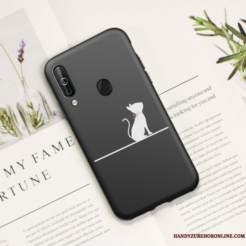 Etui Samsung Galaxy A40s Mode Trend Smuk, Cover Samsung Galaxy A40s Blød Lille Sektion Kat