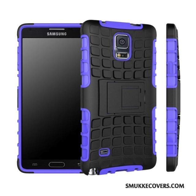 Etui Samsung Galaxy Note 4 Tasker Anti-fald Lilla, Cover Samsung Galaxy Note 4 Beskyttelse Telefonaf Personlighed