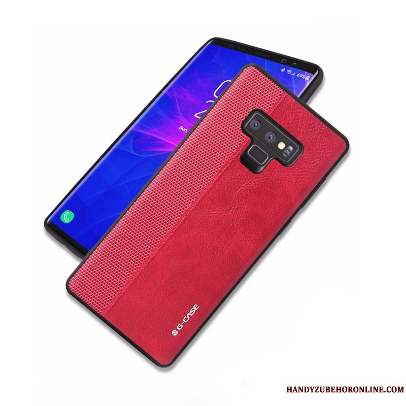 Etui Samsung Galaxy Note 9 Beskyttelse Telefonrød, Cover Samsung Galaxy Note 9