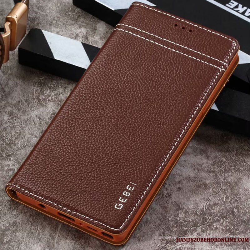 Etui Samsung Galaxy Note 9 Tasker Brun Anti-fald, Cover Samsung Galaxy Note 9 Beskyttelse