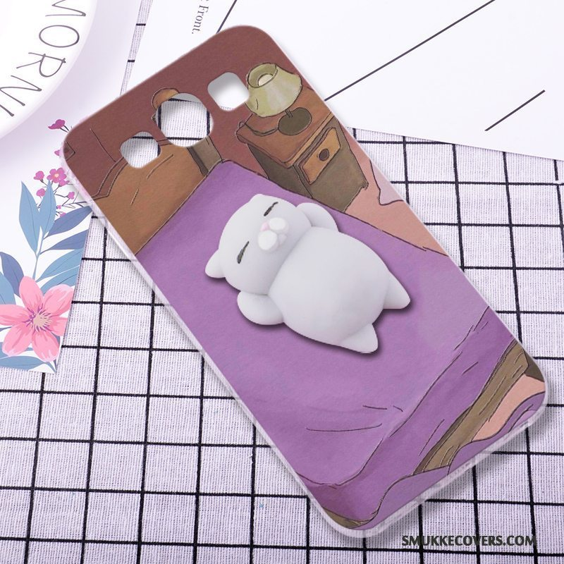 Etui Samsung Galaxy S3 Silikone Anti-fald Af Personlighed, Cover Samsung Galaxy S3 Cartoon Lilla Tredimensionale