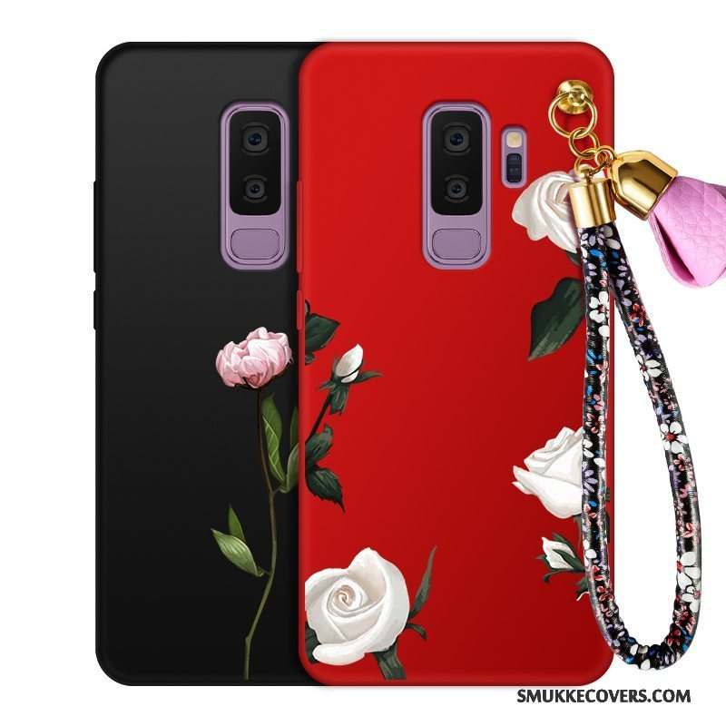 Etui Samsung Galaxy S9+ Tasker Anti-fald Trend, Cover Samsung Galaxy S9+ Silikone Telefonblomster