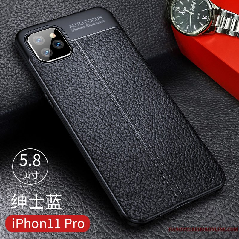 Etui iPhone 11 Pro Max Blød Business Tynd, Cover iPhone 11 Pro Max Silikone Ny Telefon