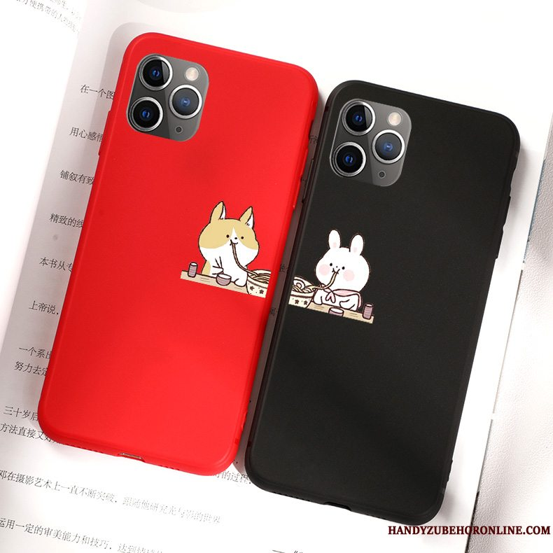Etui iPhone 11 Pro Max Cartoon Nuttet Kanin, Cover iPhone 11 Pro Max Blød Telefonelskeren