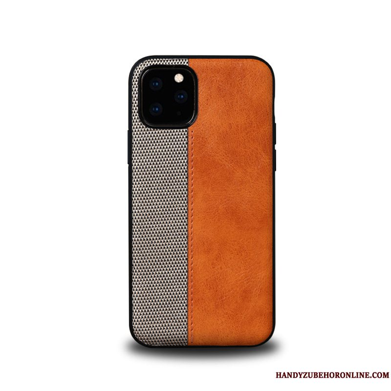 Etui iPhone 11 Pro Max Læder Simple Trend, Cover iPhone 11 Pro Max Beskyttelse High End Business