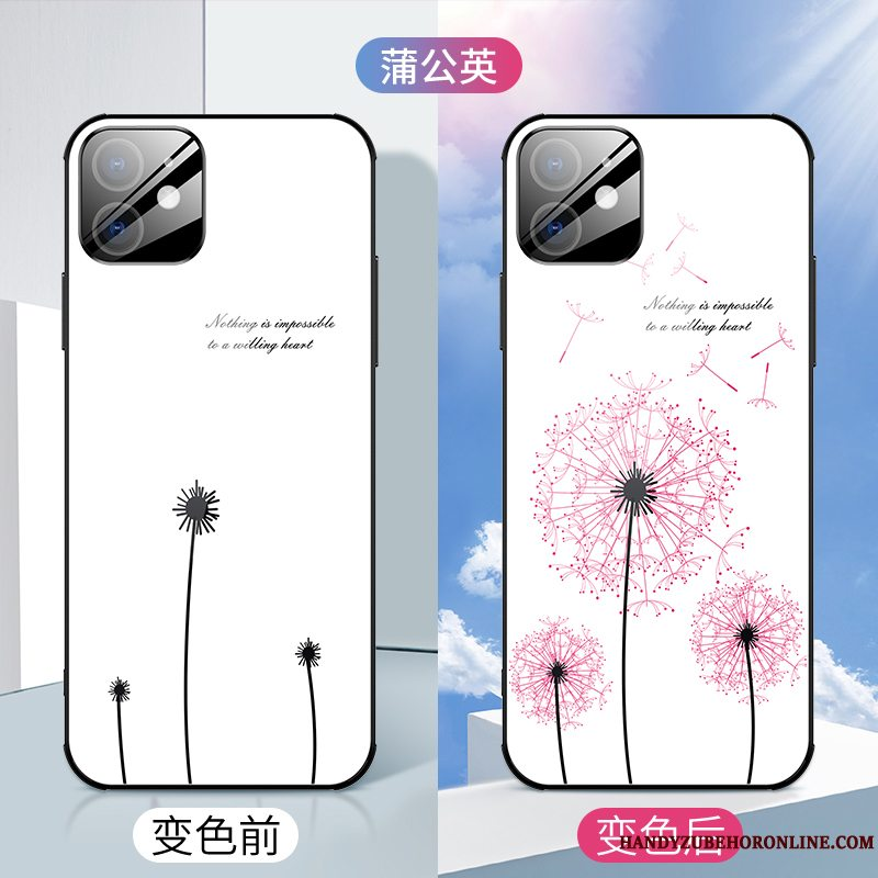 Etui iPhone 12 Mini Tasker Telefontynd, Cover iPhone 12 Mini Kreativ Ny Blomster