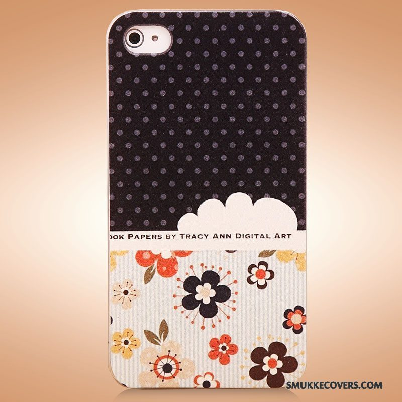 Etui iPhone 4/4s Cartoon Sort Ny, Cover iPhone 4/4s Beskyttelse Smuk Telefon