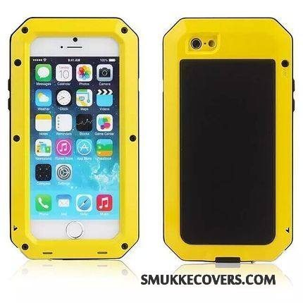 Etui iPhone 4/4s Metal Armour Ny, Cover iPhone 4/4s Beskyttelse Tre Forsvar Telefon