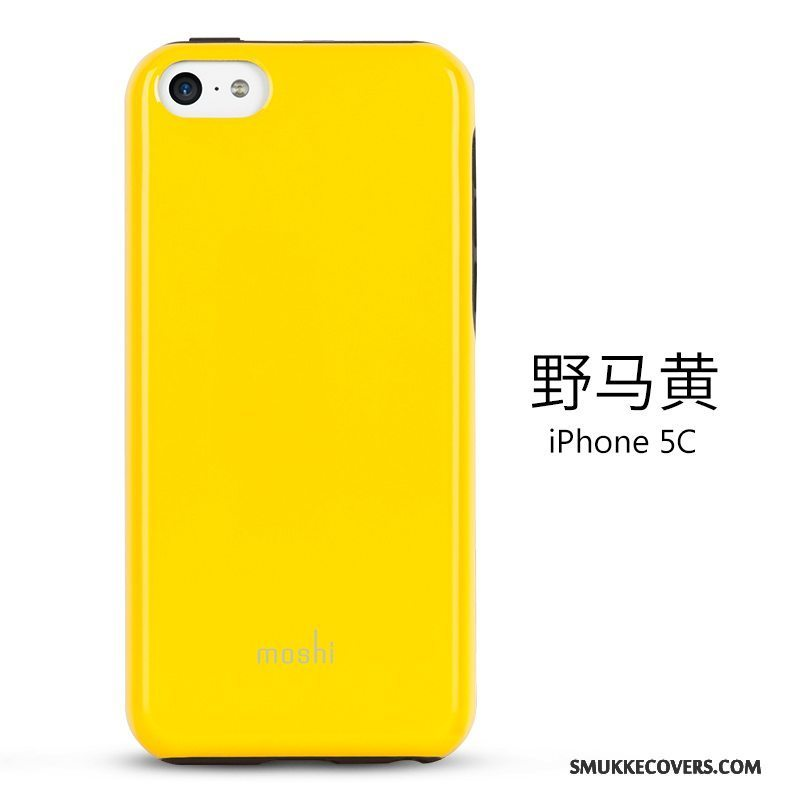 Etui iPhone 5c Beskyttelse Telefongul, Cover iPhone 5c Tynd
